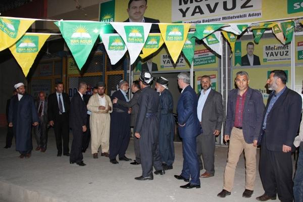 Irak Kürdistanı'ndan gelen âlimler Yavuz'u ziyaret etti