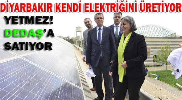 Diyarbakır Belediyesi güneş enerjisiyle elektrik üretecek
