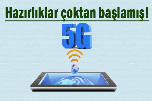 5G teknolojisi geliyor...