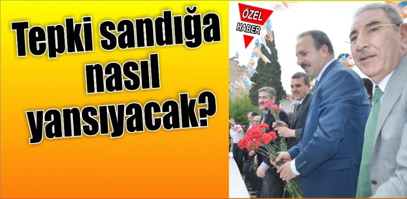 Şanlıurfa'da halk tepkili,AK Parti endişeli