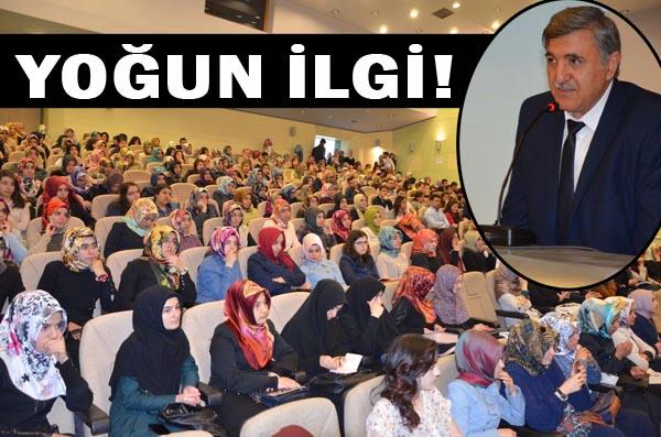 """HÜ'DE """"KİŞİSEL GERİLEYİŞ"""" KONFERANSI"""