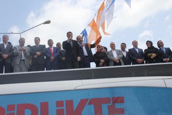 12 AK Parti adayları Halfeti'de