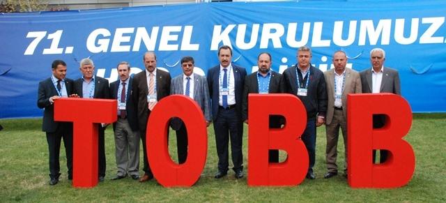 ŞUTB, TOBB Genel kuruluna katıldı