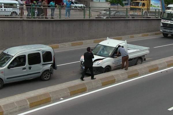 Şanlıurfa İpekyolda zincirleme kaza