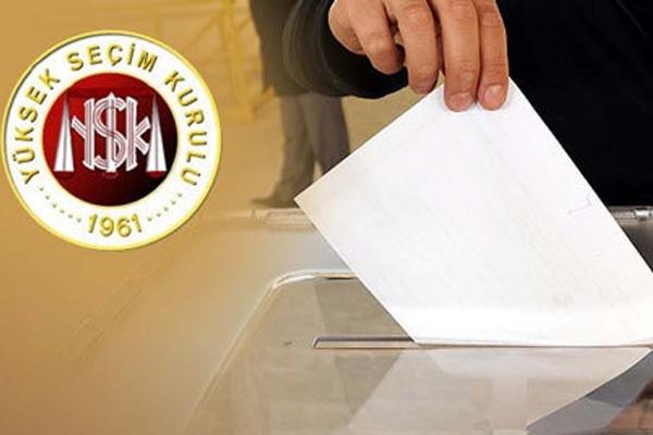 Yurtdışında oy kullanma işlemi başladı