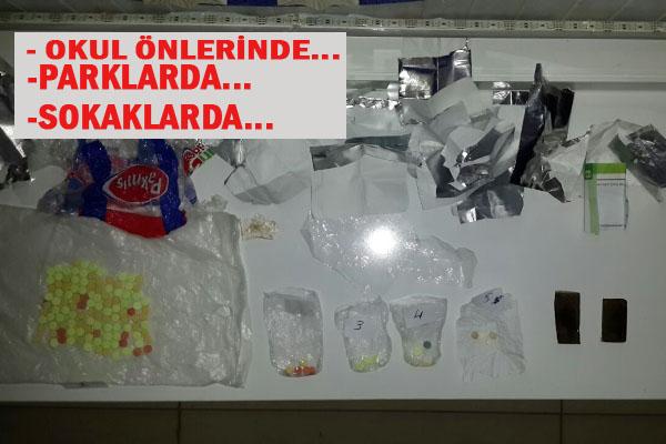 Viranşehir'de uyuşturucu satıcılarına baskın