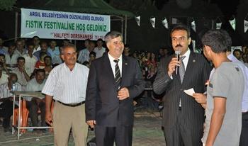 Argıl'da ikinci Fıstık festivali