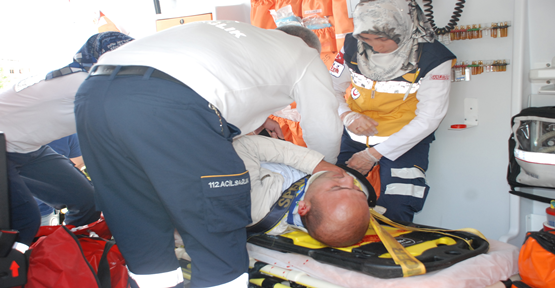 Bu kez motosiklet kazası: polis yaralandı