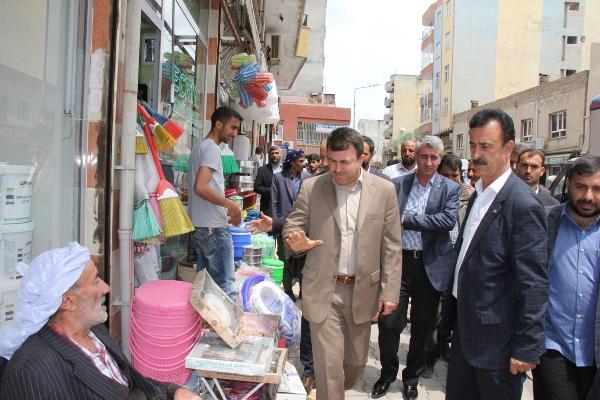Yavuz Viranşehir'de esnafın sorunlarını dinledi