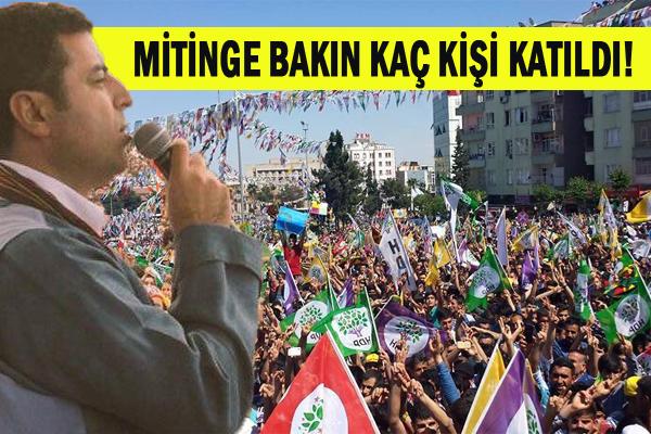 HDP Şanlıurfa Mitingini Gerçekleştirdi