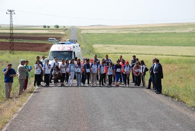 Hilvan'da 19 Mayıs Koşusu Yapıldı (VİDEOLU)