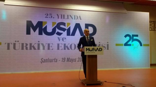 Müsiad Şanlıurfa'da 25. Yıldönümünü kutladı