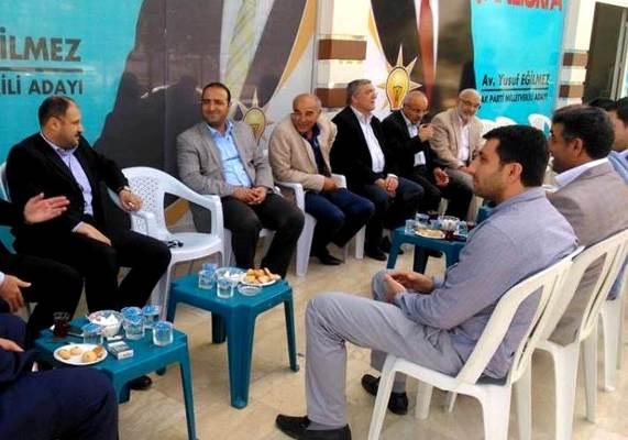 Gülpınar Seçim Bürosu ve Taziye ziyaretinde