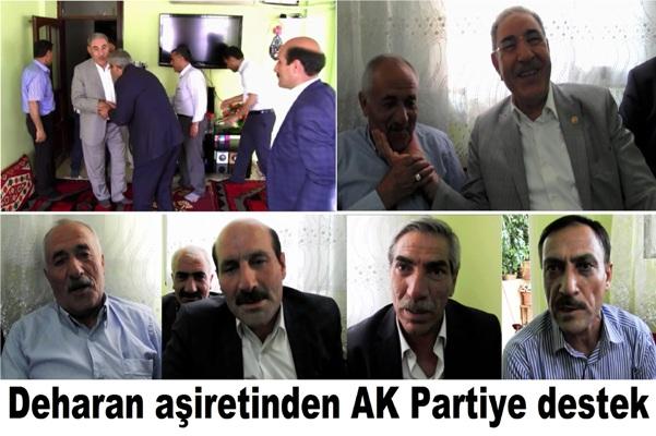 Deharan aşiretinden AK Partiye destek
