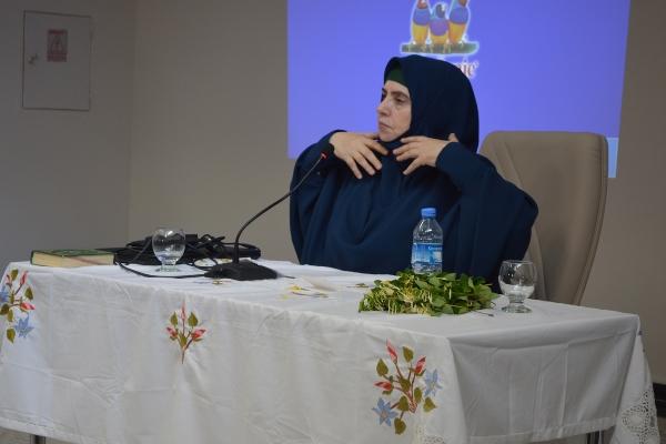 Emine Şenlikoğlu Hilvanlı bayanlarla buluştu