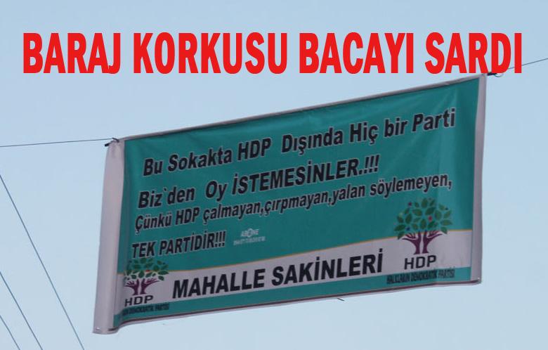 Seçim sonuçları HDP afişini yalanlıyor