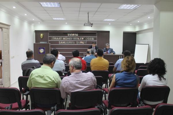 Güngör: Toprak analizleri Urfa'da yapılsın