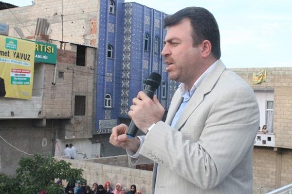 Yavuz: 'HDP muhtarlara tehdit mektupları gönderiyor'