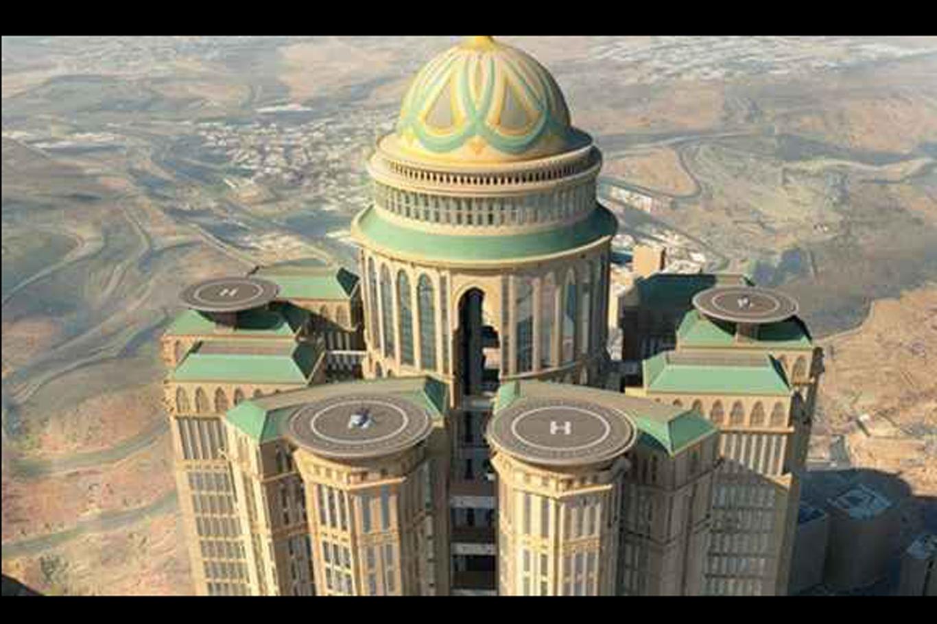 Mekke'de dünyanın en büyük oteli inşa edilecek