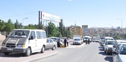 Şanlıurfa'da yollar işgal ediliyor