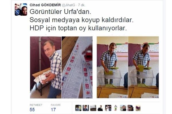 HDP'li hileyi sosyal medyada paylaştı (VİDEOLU)