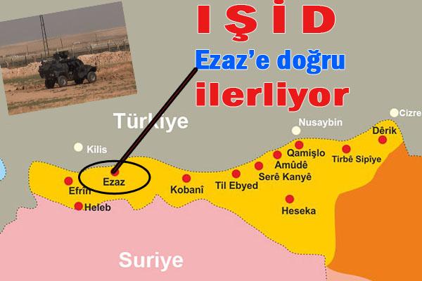 Türkiye Sınırında Çatışmalar Yaşanıyor