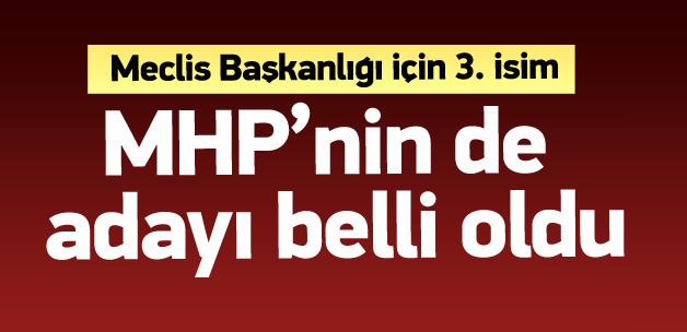 MHP'nin Meclis Başkanı adayı da belli oldu