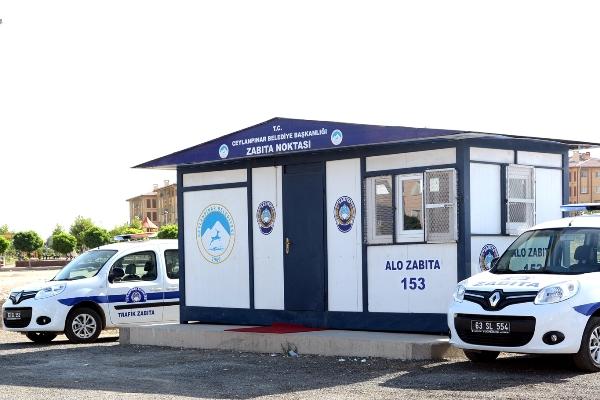 Ceylanpınar Belediyesinden Zabıta Hizmet Noktası uygulaması