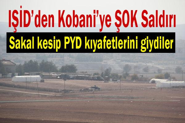 IŞİD Kobani'ye sızdı çatışma çıktı