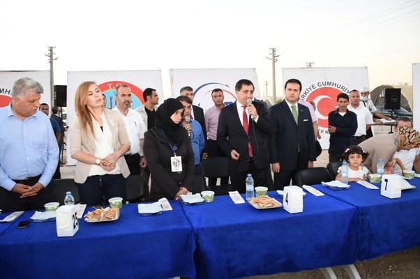 Süleyman Şah'ta Mültecilerle iftar!