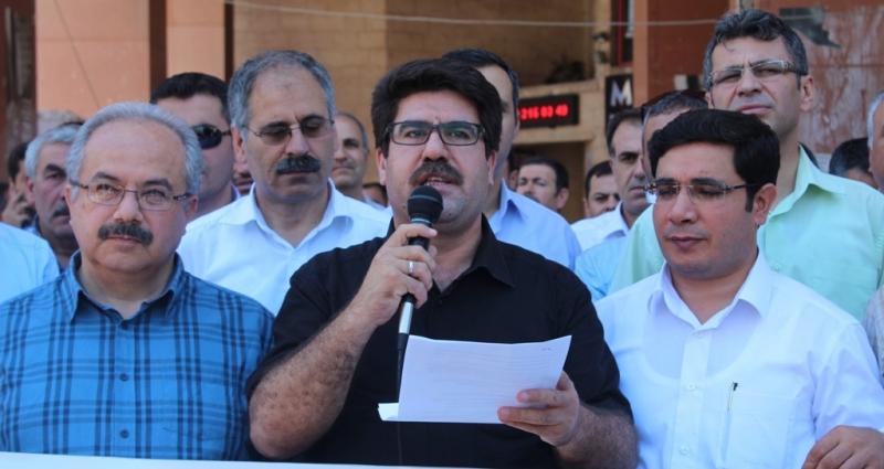 Müslümanlara yönelik saldırılara Urfa'dan tepki