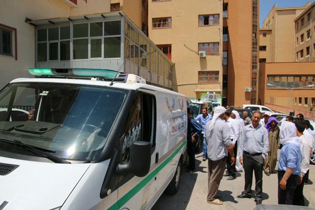 Urfa Adli Tıptaki cenazeler ailelerine teslim edildi