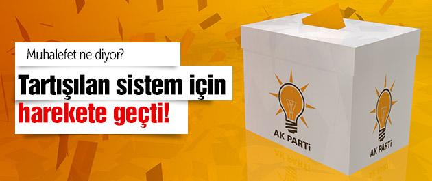 AK Parti o sistem için harekete geçti!