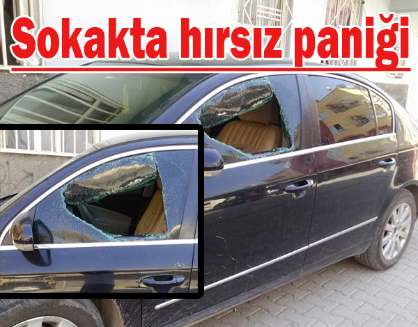 Şanlıurfa'da Bu Mahalleye Hırsızlar Dadandı