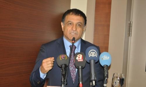 Fethi Şimşek Yeniden Şanlıurfaspor'a Başkan seçildi