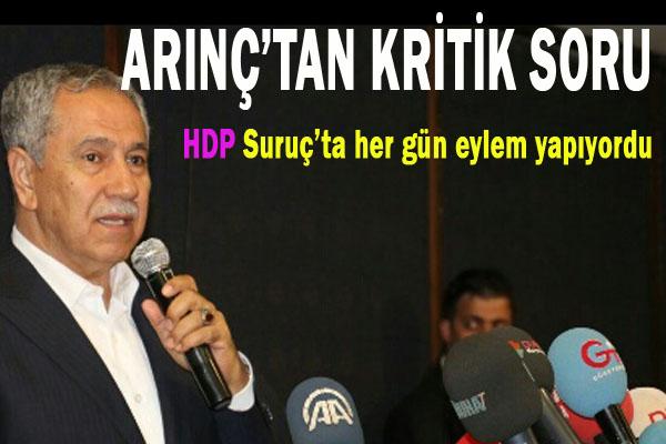 Neden HDP yöneticileri orada yoktu?
