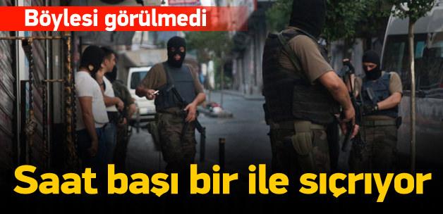 PKK ve IŞİD baskınlarında 251 gözaltı