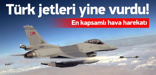 PKK kamplarına kapsamlı hava operasyonu