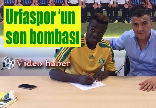 Atalantalı Doudou Şanlıurfaspor'a imza attı