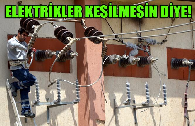 Dicle EDAŞ elektrikler kesilmesin diye!