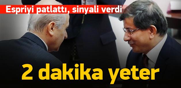 AK Parti hükümetine Bahçeli'den destek sinyali