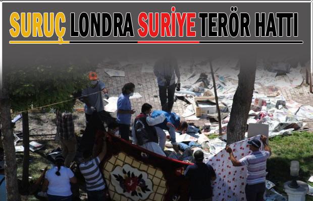 Suruç'taki bombalı saldırganın bağlantıları dikkat çekti