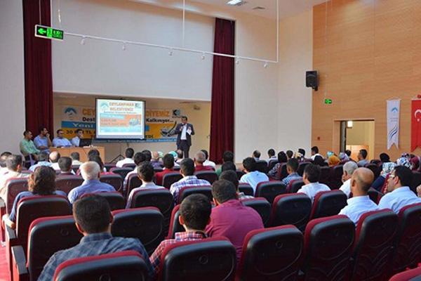 Ceylanpınar'da KOSGEB girişimcilik kursu açıldı