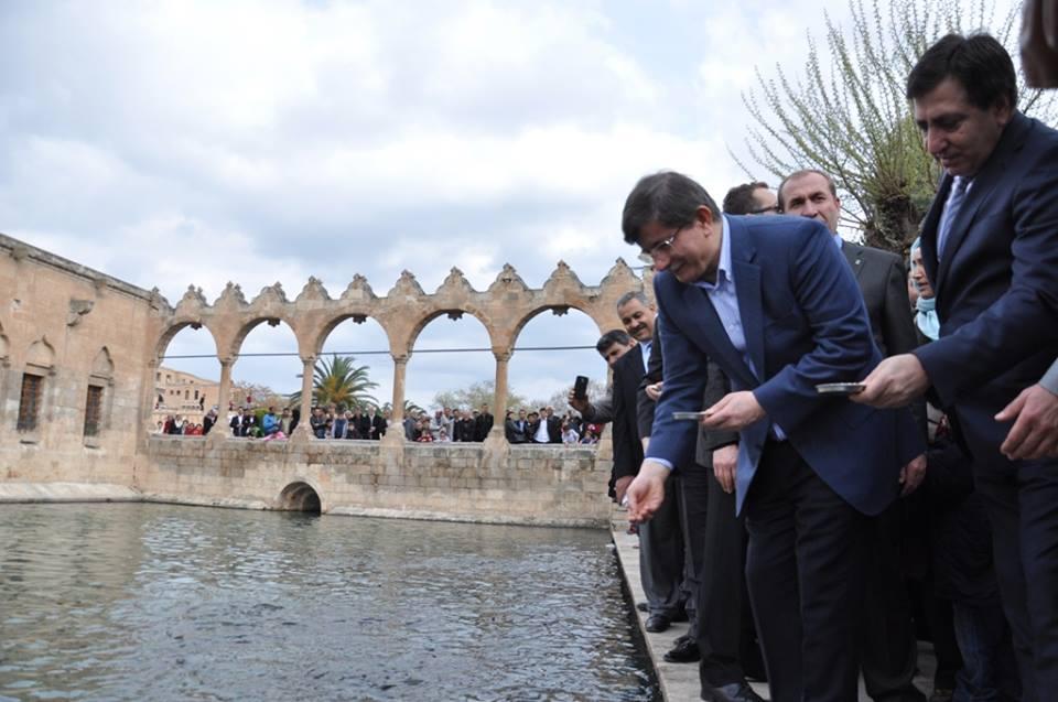 Başbakan Ahmet Davutoğlu Şanlıurfa'ya geliyor