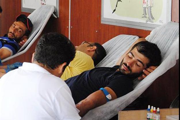 Siverek'te kan bağışı kampanyası başlatıldı