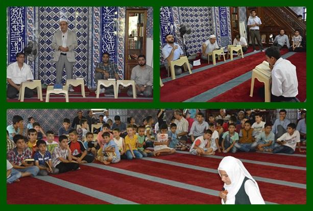 Viranşehir'de Yaz Kur'an Kursları sona erdi