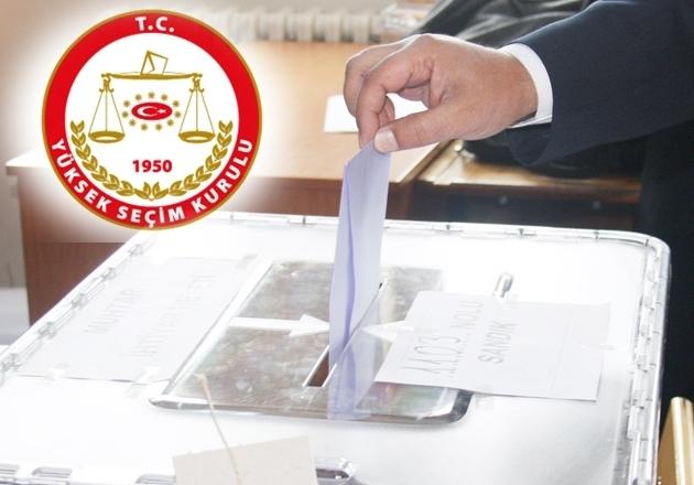 YSK Seçim takvimi açıklandı