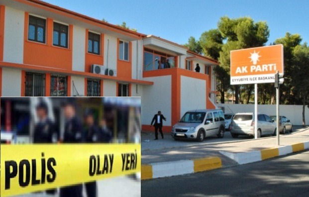 AK Parti Eyyübiye ilçe başkanlığına bombalı saldırı