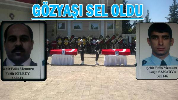Şanlıurfa'da Şehit Polisler için tören düzenlendi
