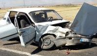 Diyarbakır'da kaza: 6 yaralı (Güncellendi)